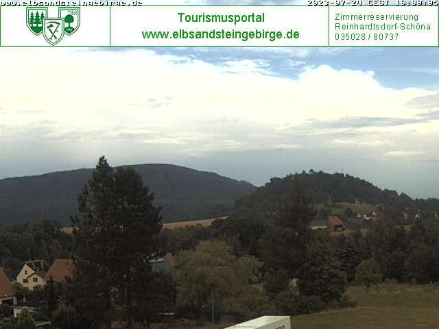 Webcam Kaiserkrone in der Sächsischen Schweiz