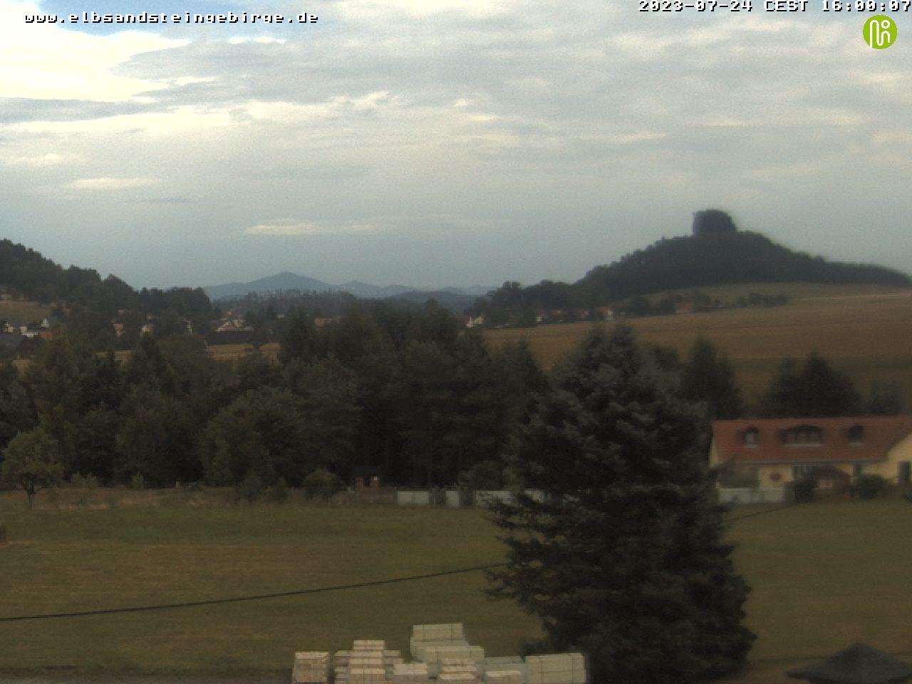 Elbsandsteingebirge - Webcam Zirkelstein