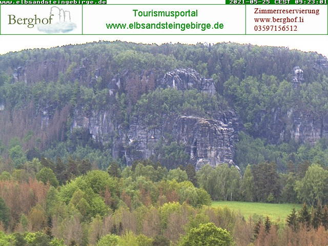 Saechsische Schweiz Bloßstock
